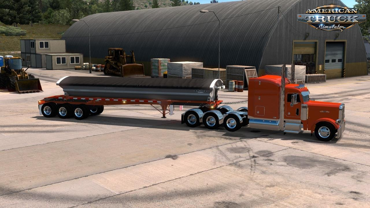 Trailer SmithCo Side Dump Ownable v1.0 (1.33.x) for ATS