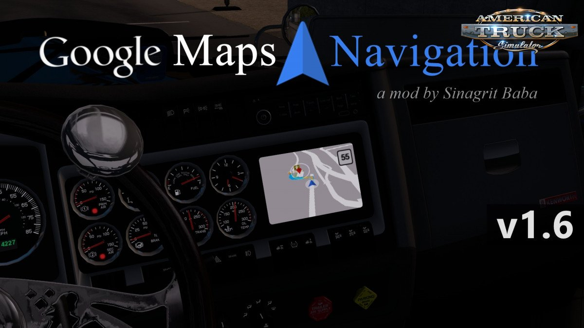 Google Maps Navigation Normal Version v2.2 (1.38.x) for ATS