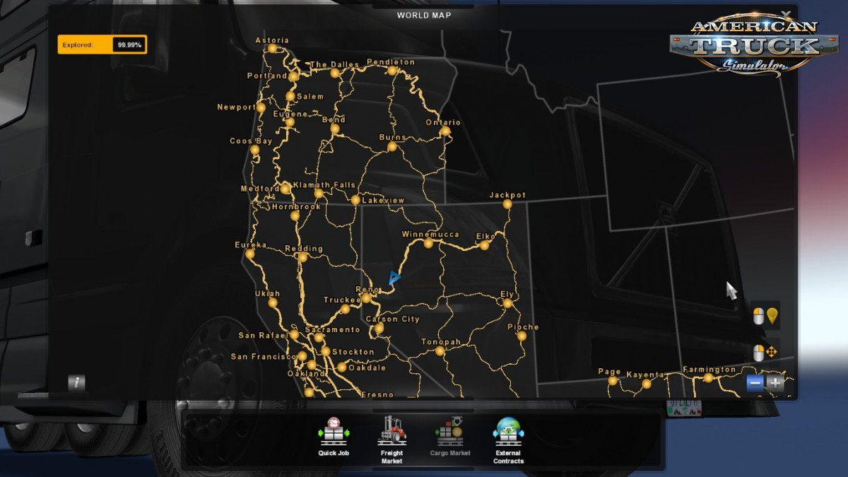 Save Game (ALL DLCs) for ATS 1.34.x