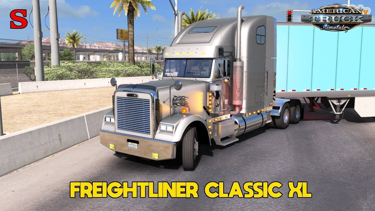 Freightliner Classic XL + Interior v1.0 (Updated) (1.34.x) for ATS