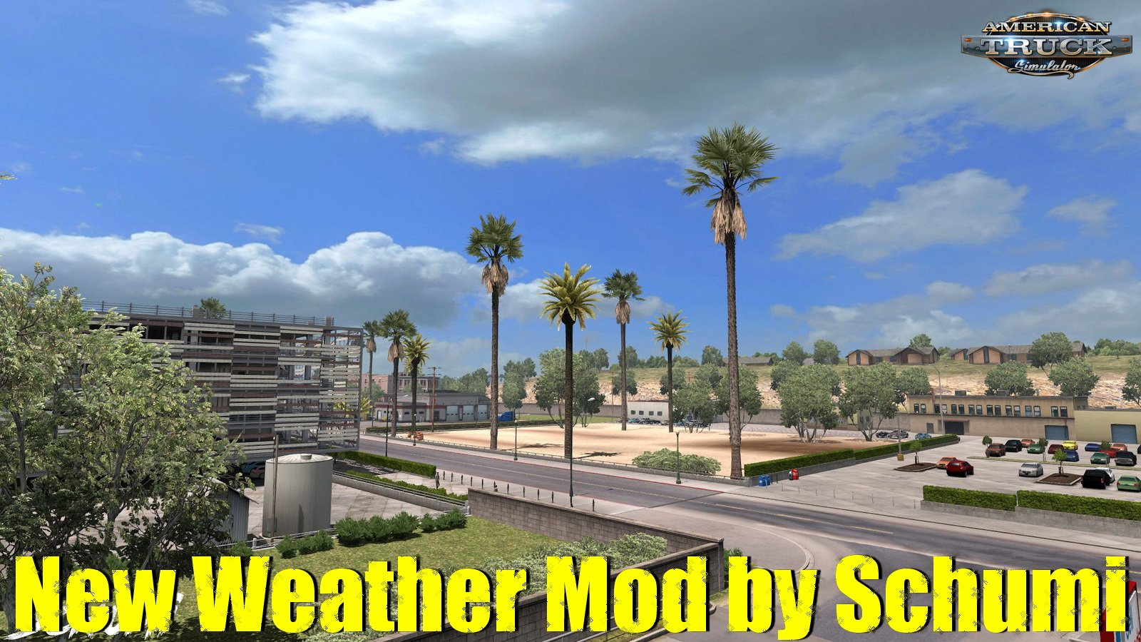 New Weather Mod v1.0 by Schumi (1.34.x) for ATS