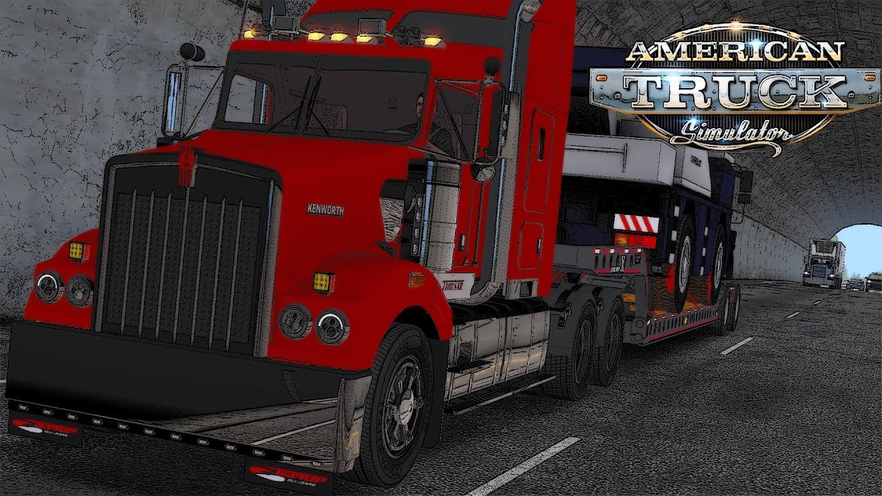 Kenworth T408 SAR + Interior v2.0 (1.34.x)