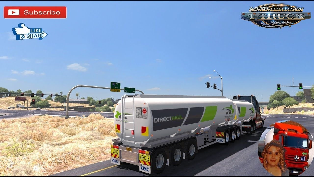 Arizona Improvement Project Map - American Truck Simulator