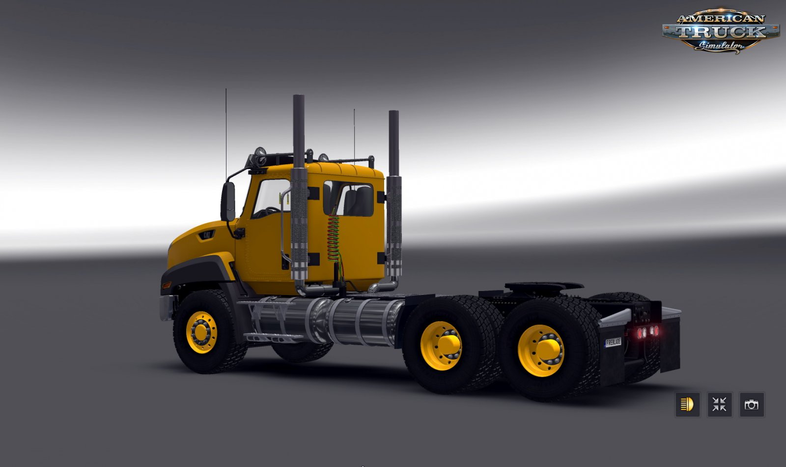 CAT CT660 + Interior v2.1 by RTA Team (1.34.x)