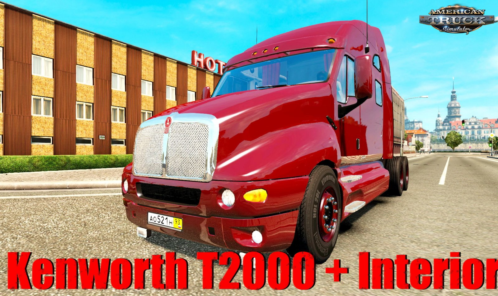 Kenworth T2000 + Interior v1.1 (1.35.x) for ATS