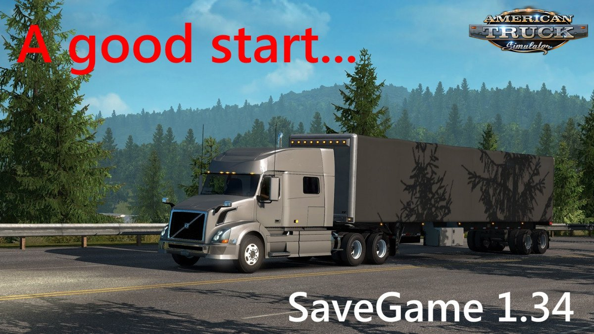 Save Game Profile for ATS 1.34.x by kuba6