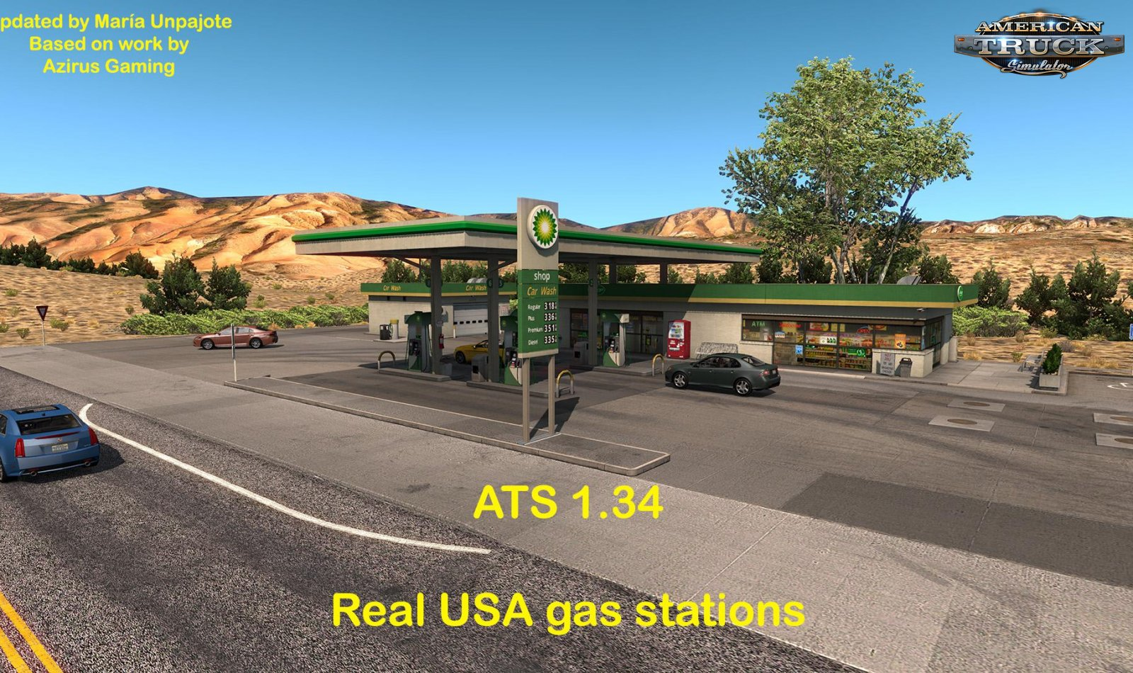 REAL USA GAS STATIONS v1.0 (1.34.x)