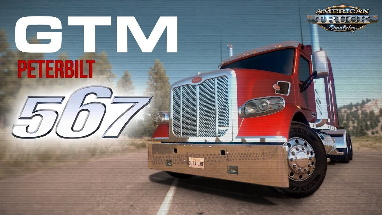 Peterbilt 567 + Interior v1.2.37 by GTM Team (1.38.x)