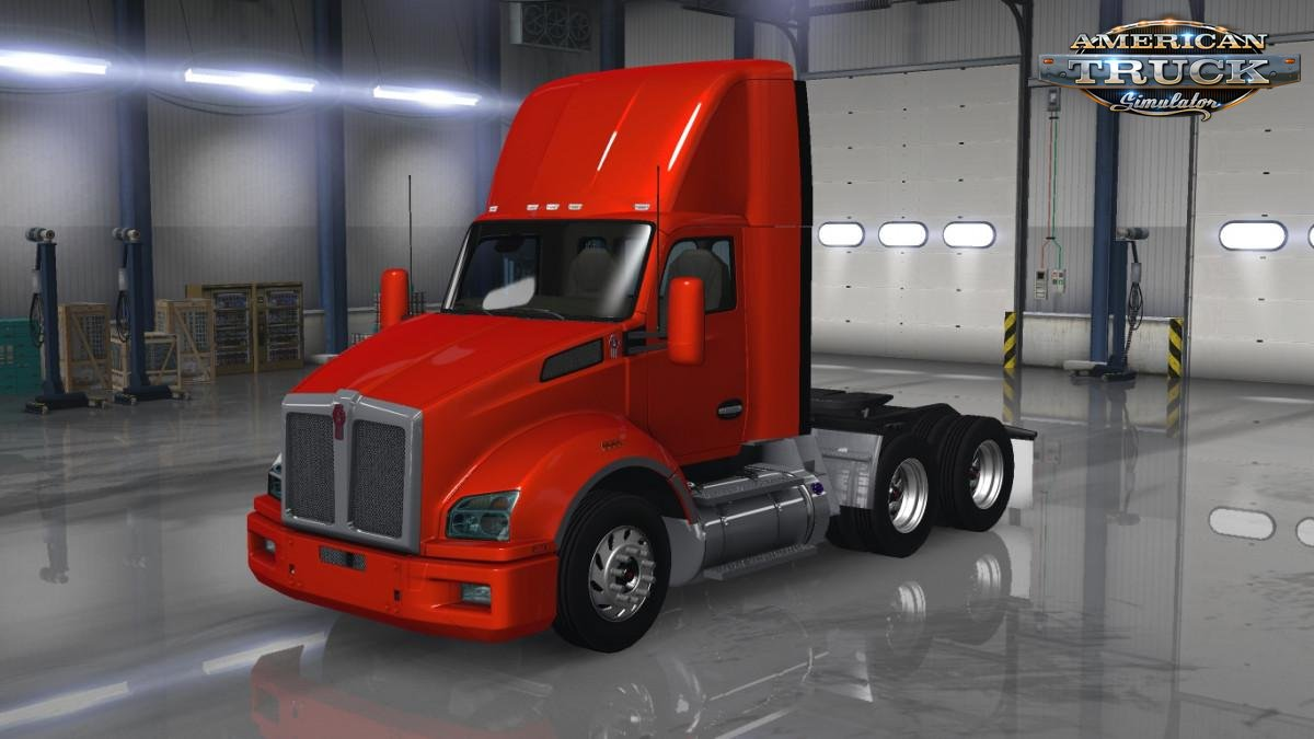 Kenworth T880 + Interior v1.8 Edit by galimim (1.37.x)