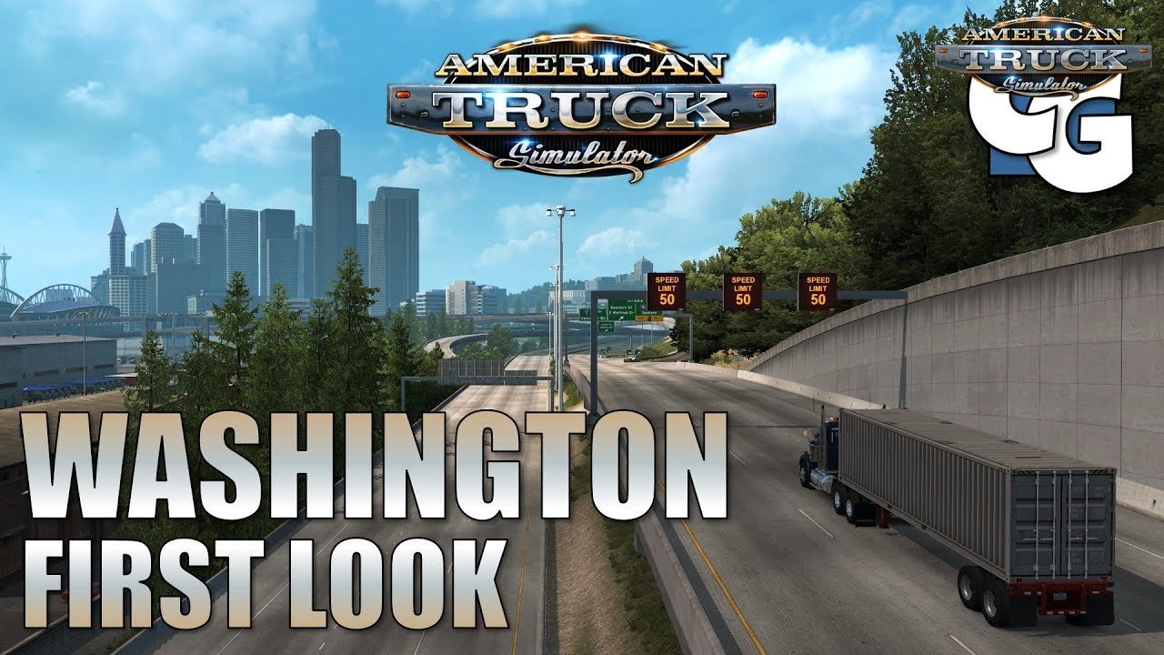 Washington DLC - American Truck Simulator