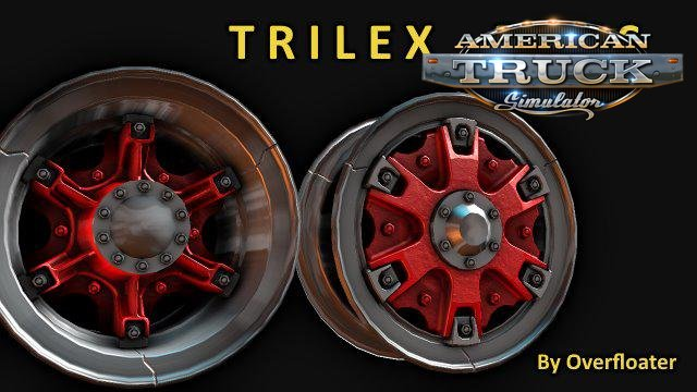 Trilex Rims v1.1 by Overfloater (1.39.x) for ATS