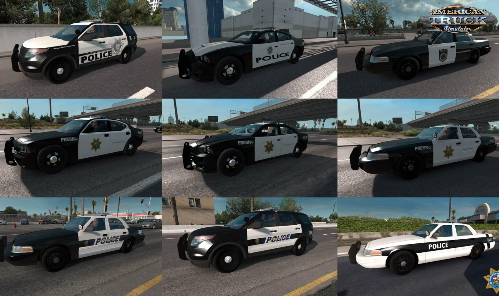 Highway Patrol Police AI Traffic Cars v1.0 (1.35.x) for ATS