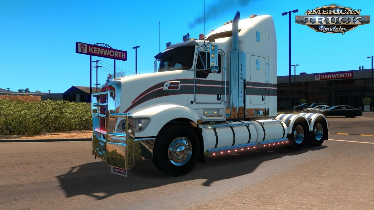 Kenworth T609 + Interior v1.0 (1.35.x) for ATS
