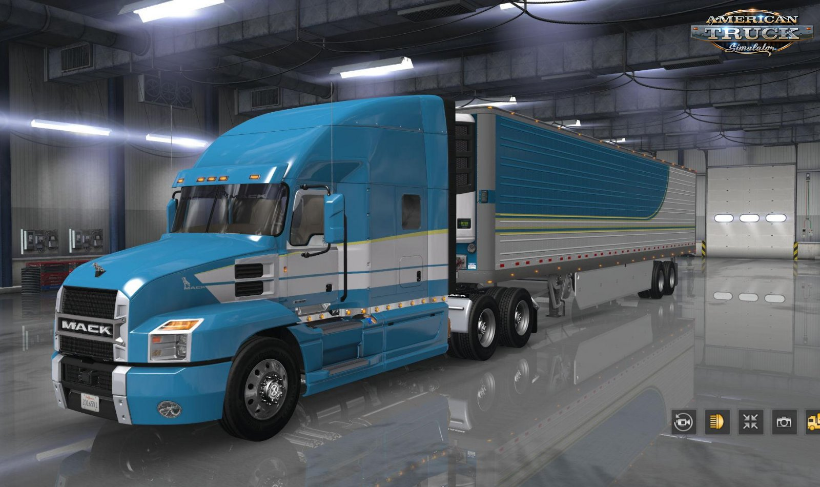 Mack Anthem + Interior v1.2 Edit by Harven (1.35.x) for ATS