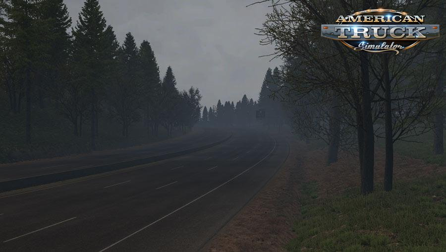 Late Autumn/Mild Winter v2.3 (1.35.x) for ATS