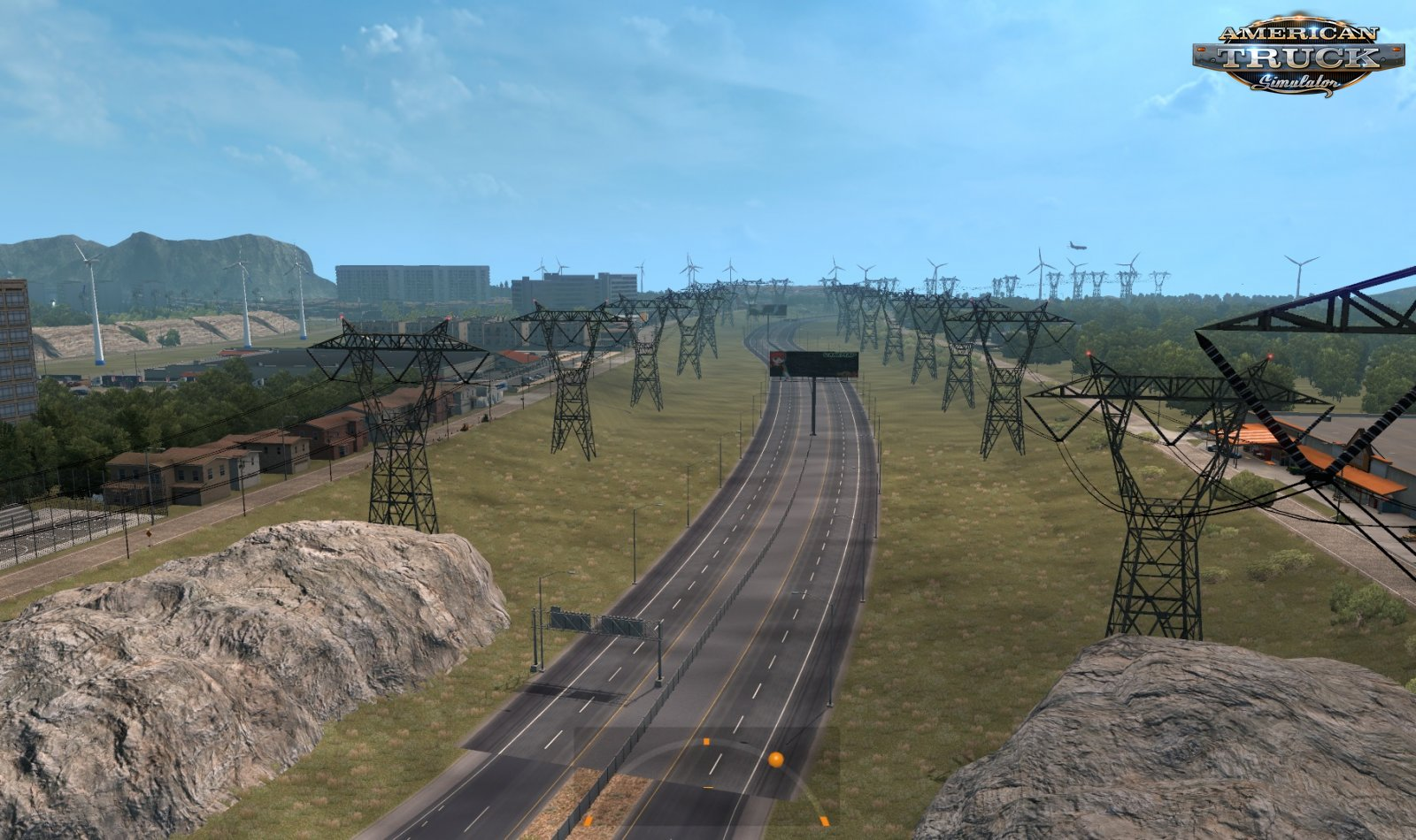 ATMX Map Mod v2.0 by Alta Tension MX (1.36.x) for ATS