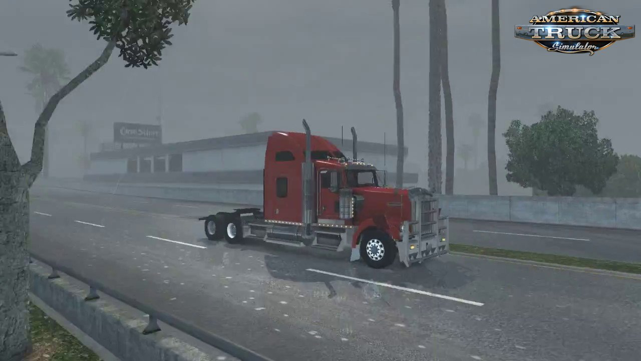Realistic Rain & Fog & Thunder Sounds v1.3.1 (1.35.x) for ATS