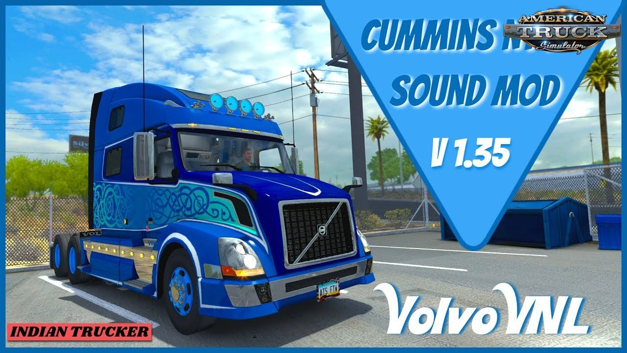Real Cummins N14 Sound for SCS Volvo VNL v1.0 (1.35.x)