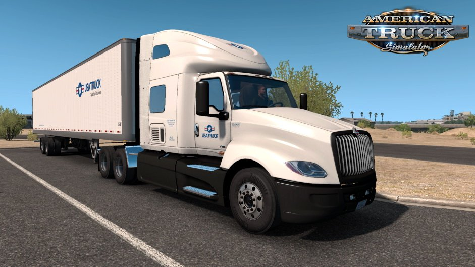 USA Truck International LT & Trailer Skin v1.0 (1.35.x) for ATS