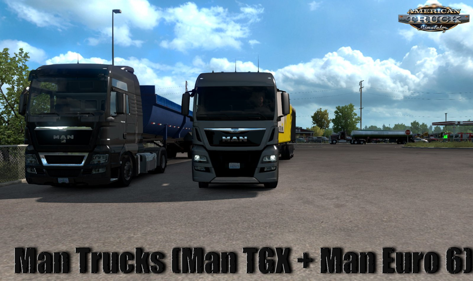 Man Trucks (Man TGX + Man Euro 6) v1.0 (1.35.x) for ATS