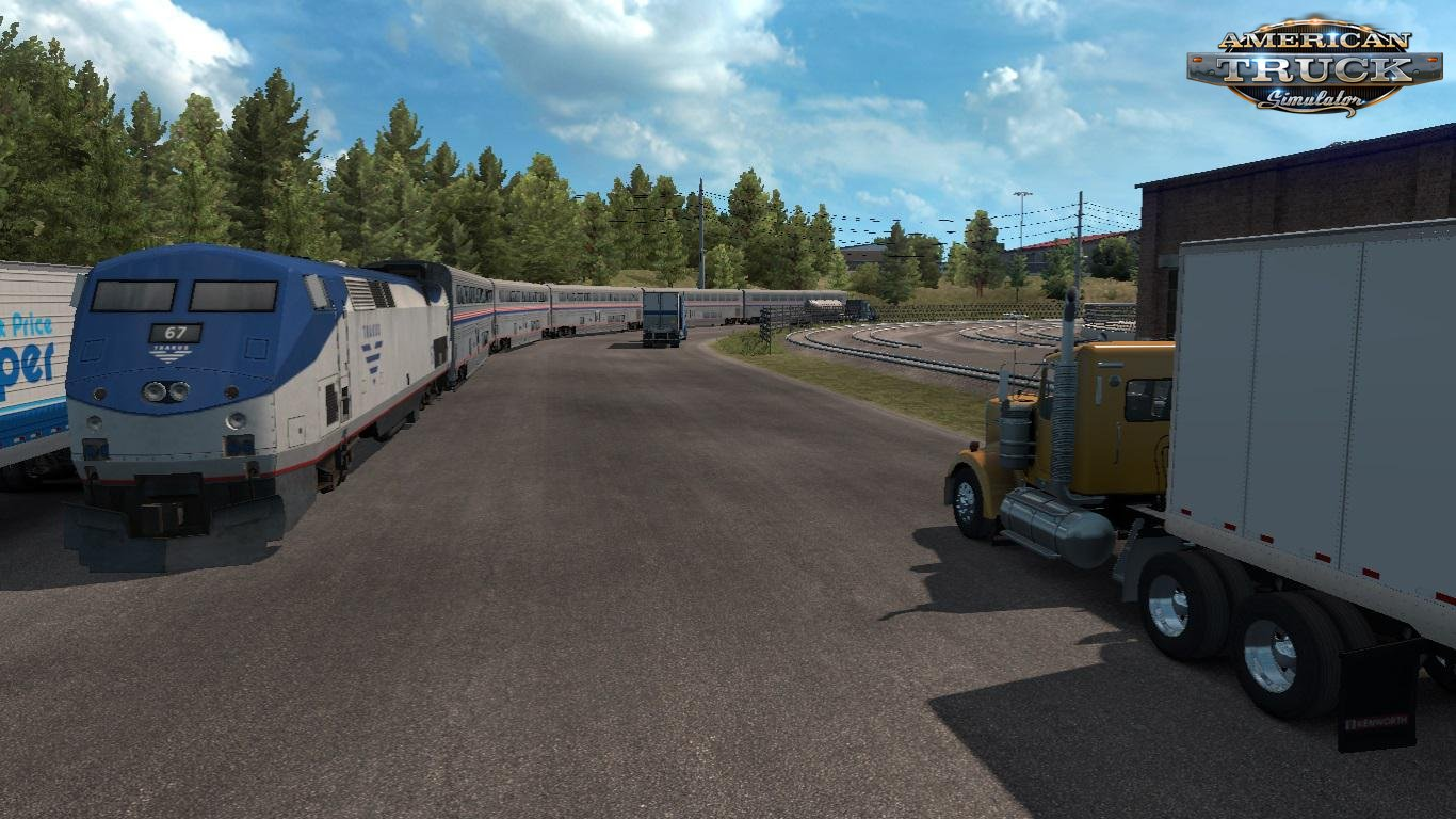 Trains Everywhere (Road Nightmare) Addon v1.0 (1.35.x) for ATS