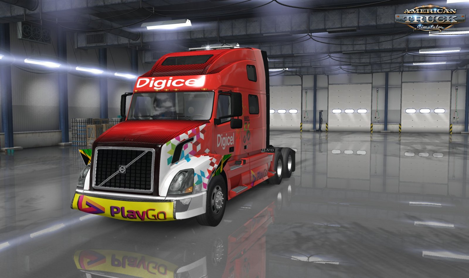 Digicel Play Skin Pack v1.0 (1.35.x) for ATS