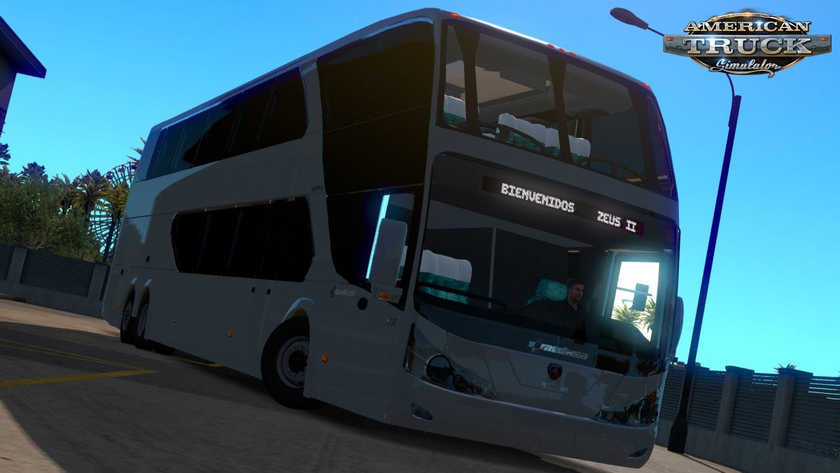 Bus Modasa Zeus II DP 6×2 Scania v1.0 (1.35.x) for ATS