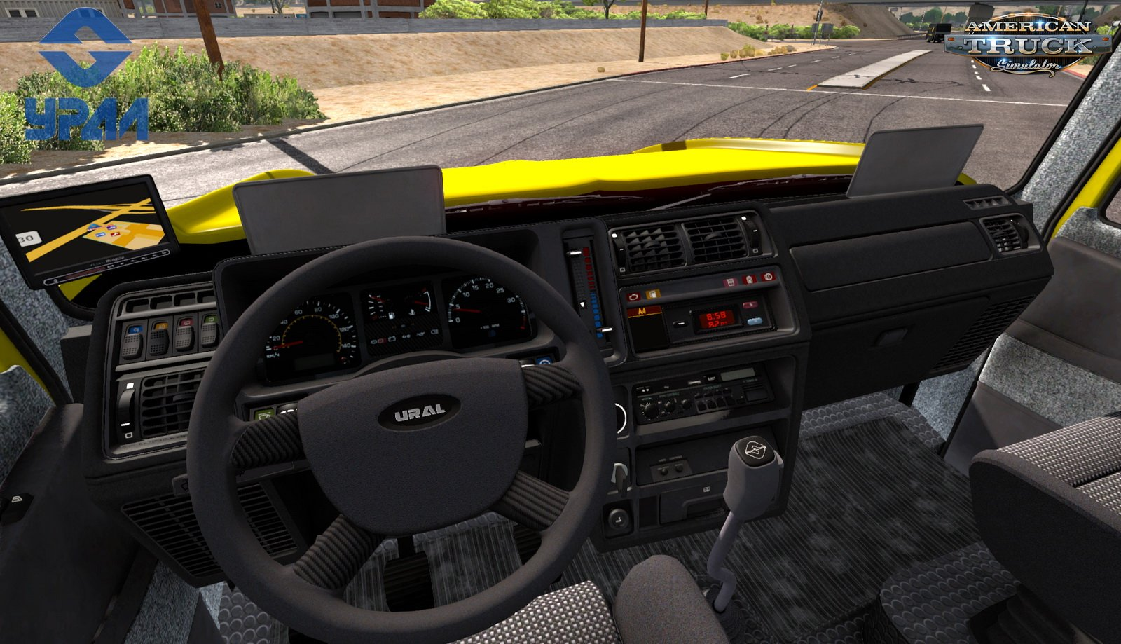 Ural 6464 + Interior v1.0 Edit by Versetti (1.35.x) for ATS