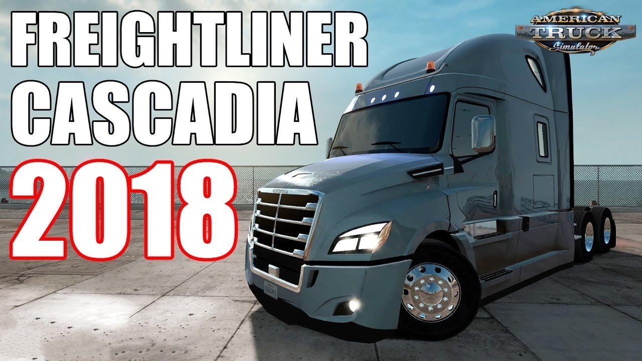 Freightliner Cascadia 2018 v1.18 Edit by galimim (1.39.x)