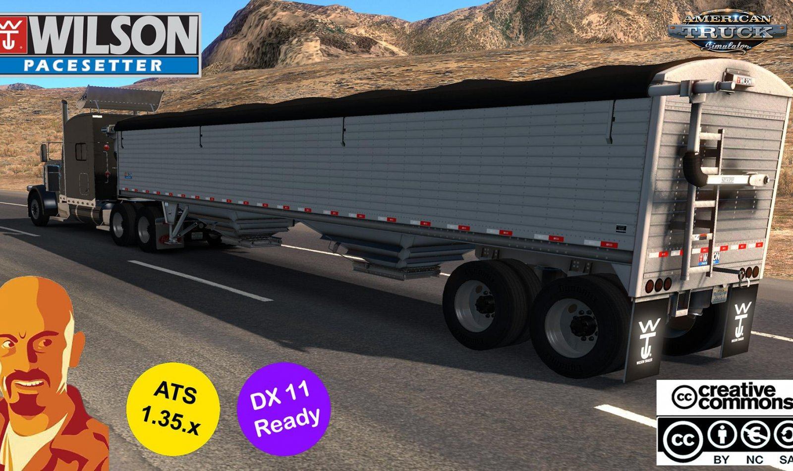 Wilson Pacesetter Trailer v1.0 (1.35.x) for ATS