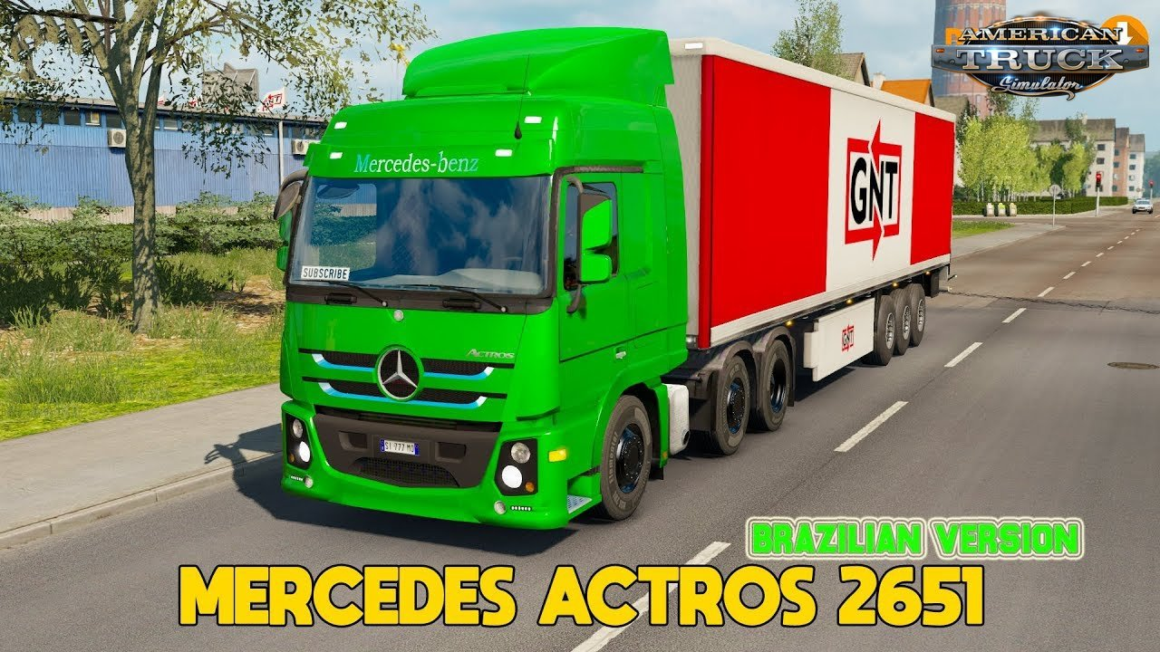 Mercedes Benz Actros 2651 + Interior v1.0 (1.35.x)