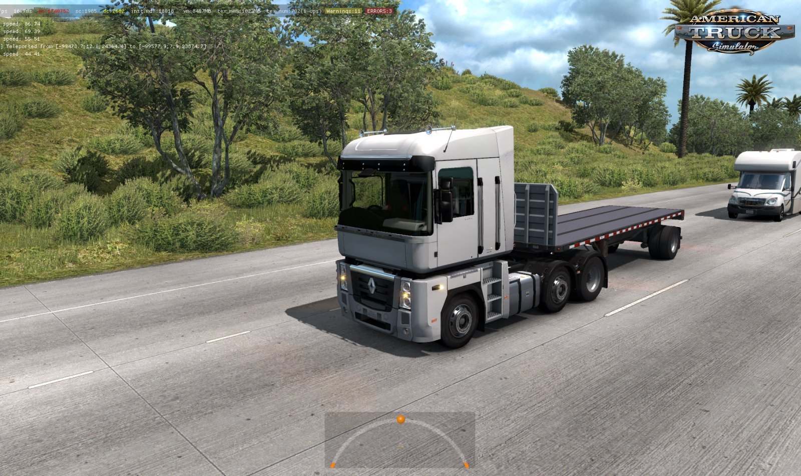 Renault MAGNUM Pack Trucks in Traffic v1.0 (1.35.x)