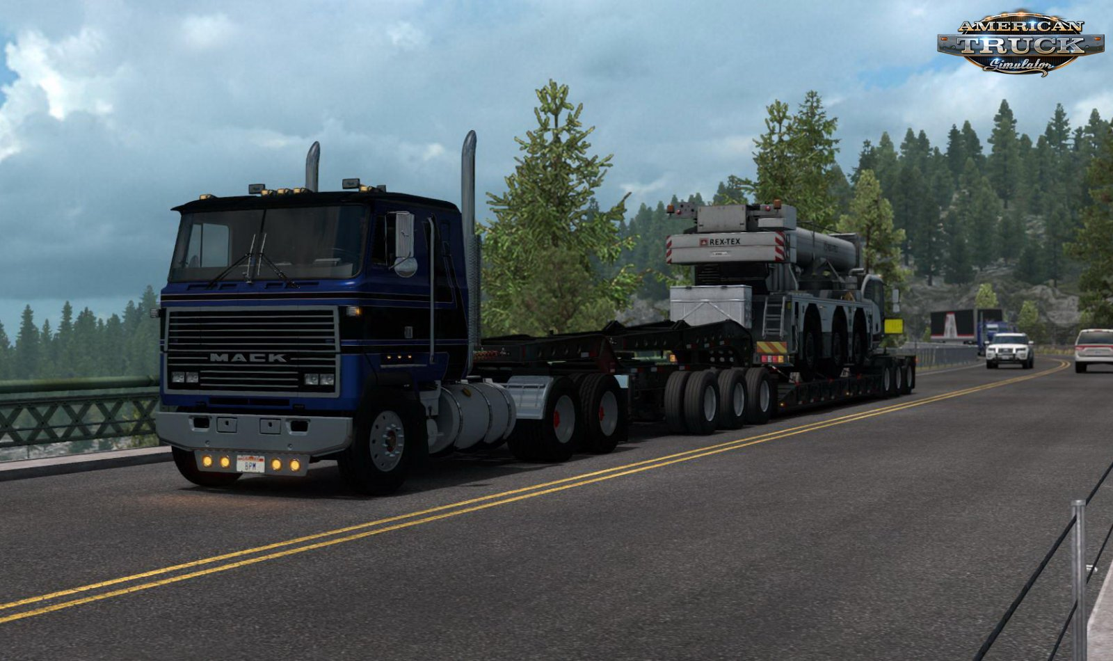 SCS Trailer Lowboy Ownable v1.0 (1.35.x)