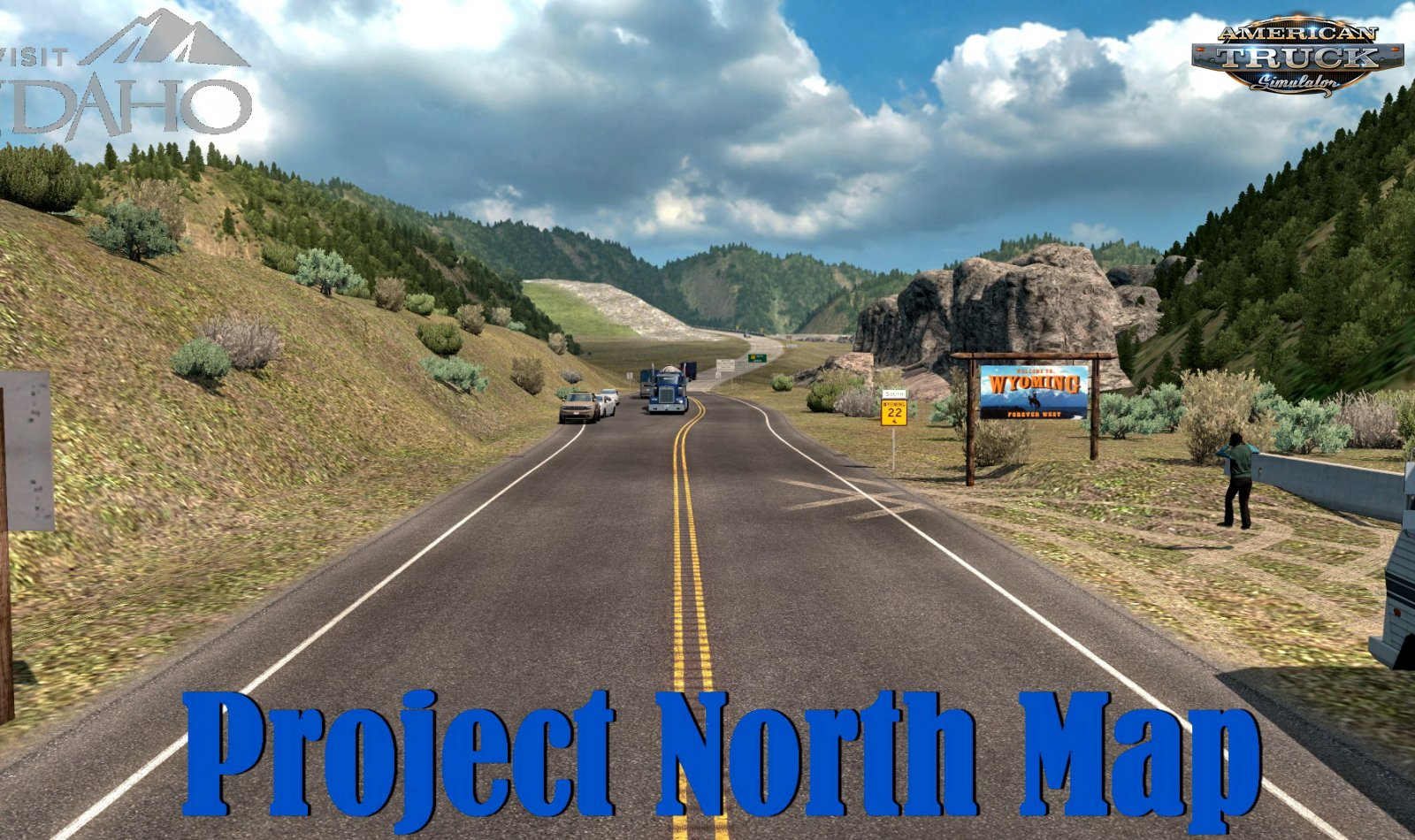 Project North Map v0.3 (1.36.x) for ATS