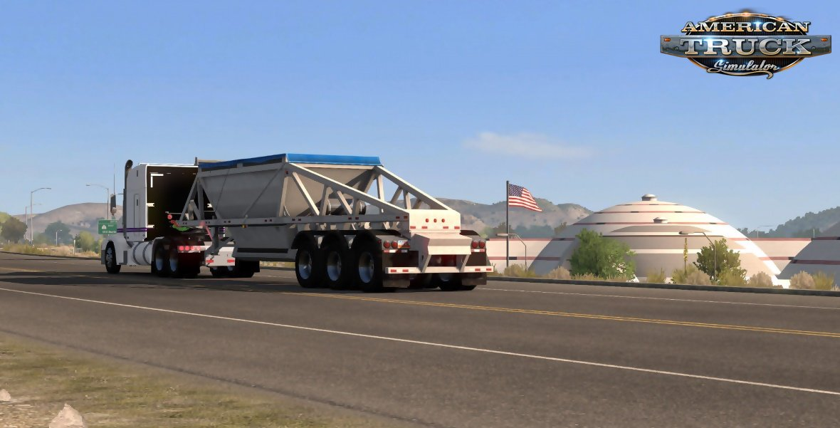 Ownable SCS Bottom Dump Trailer v1.0 for ATS