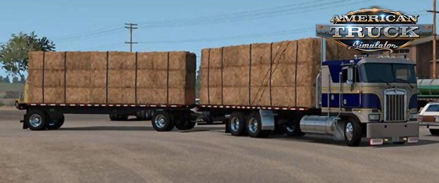 K100E Truck and Trailer Add-on Mod for Ats