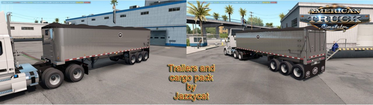 Trailers and Cargo Pack v3.5 by Jazzycat (1.36.x)