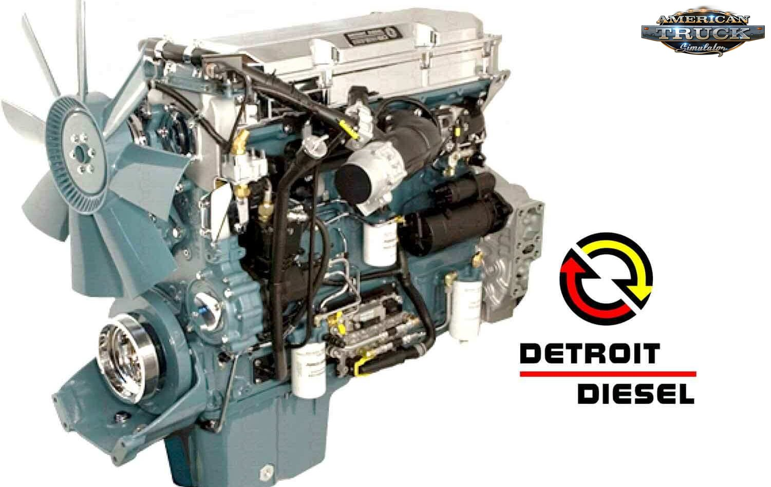 Detroit Series 60 Engine Pack v1.0 (1.37.x)