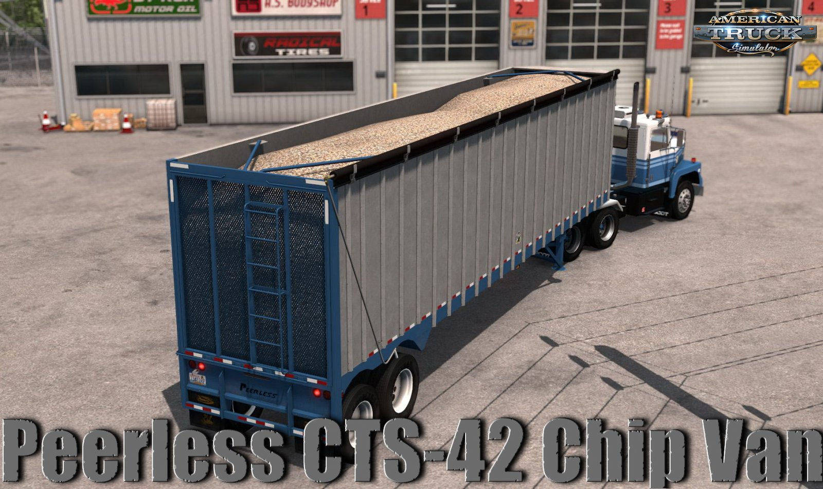 Trailer Peerless CTS-42 Chip Van v1.0 (1.37.x)