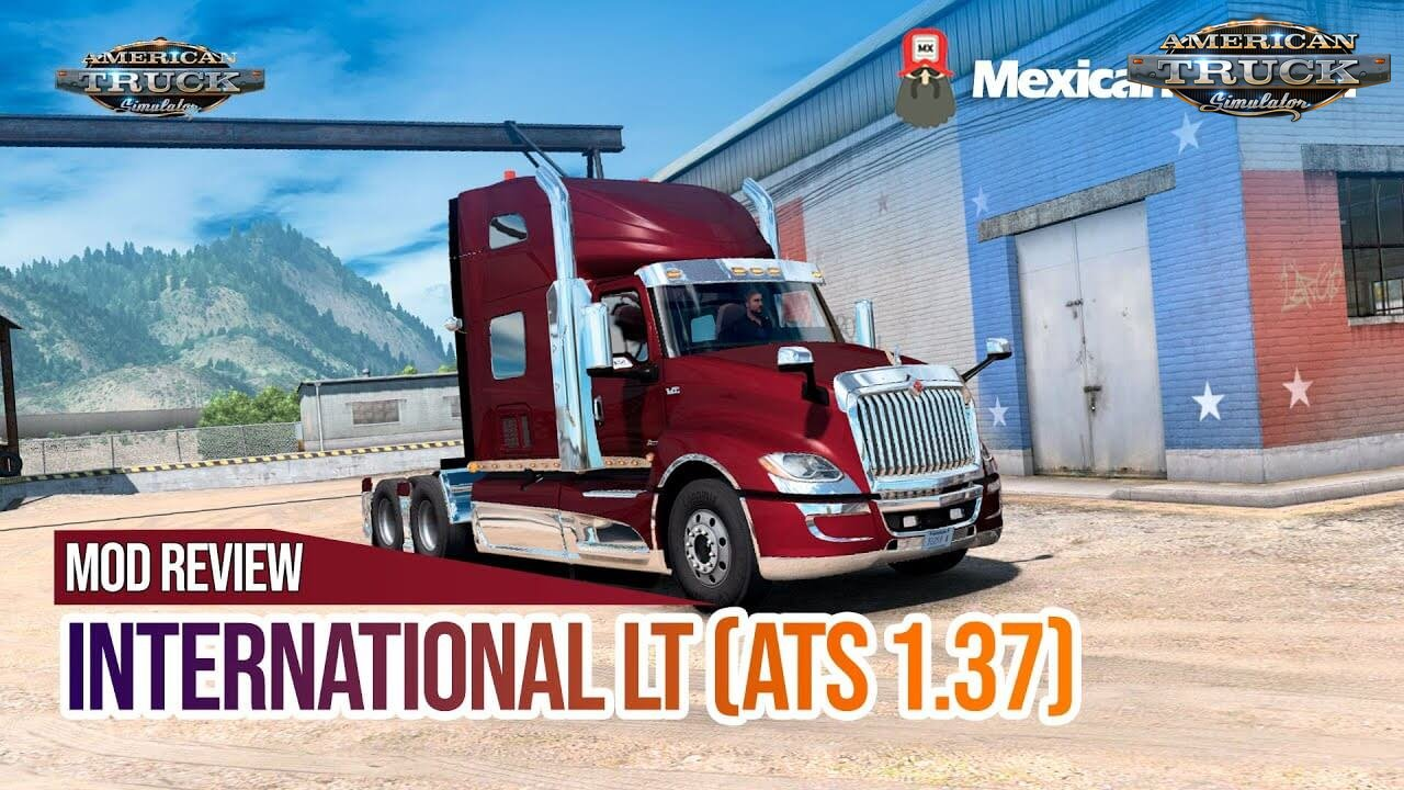International LT 2019 by Galimin (1.37.x) - American Truck
