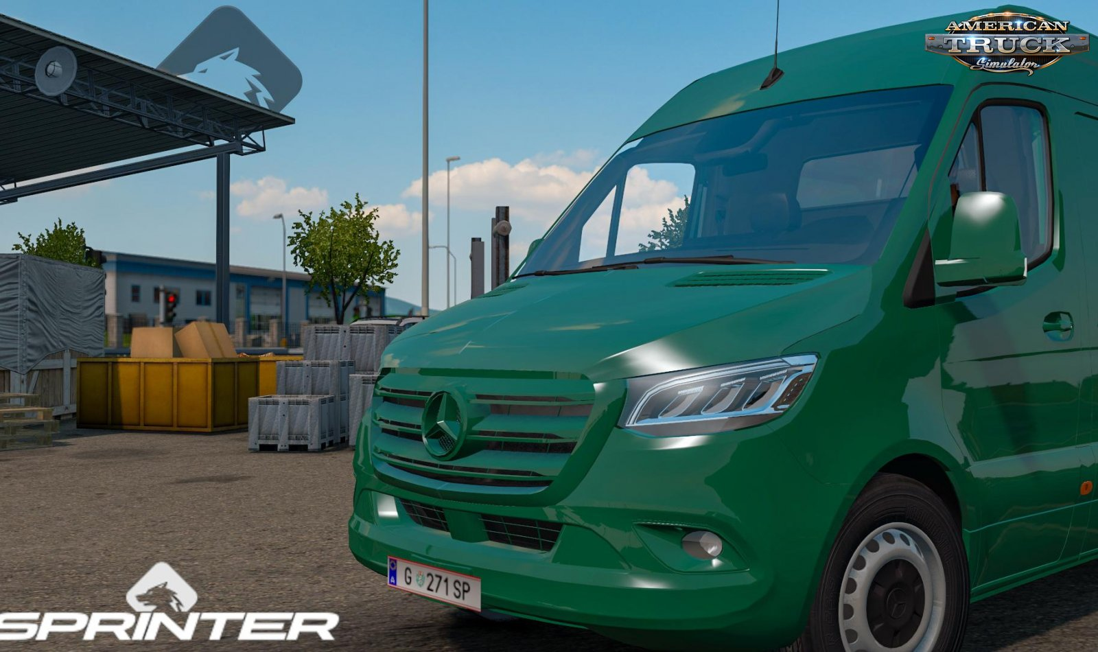 Mercedes Sprinter 2019 v0.3 (1.36.x) for ATS