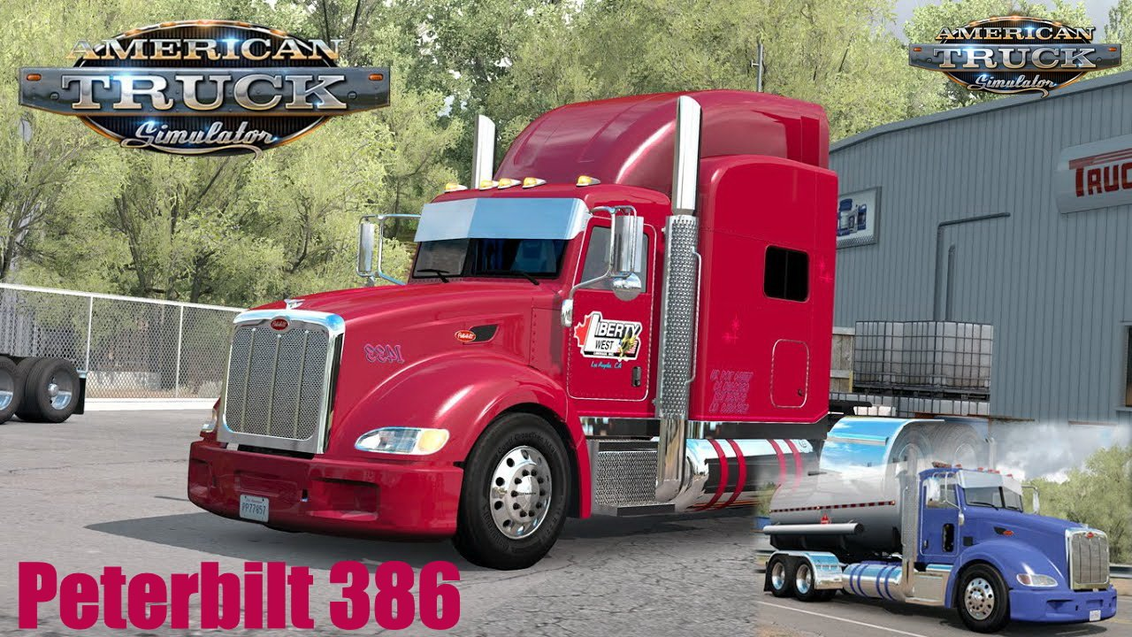 Peterbilt 386 + Interior v1.6 By Modjeski (1.39.x)