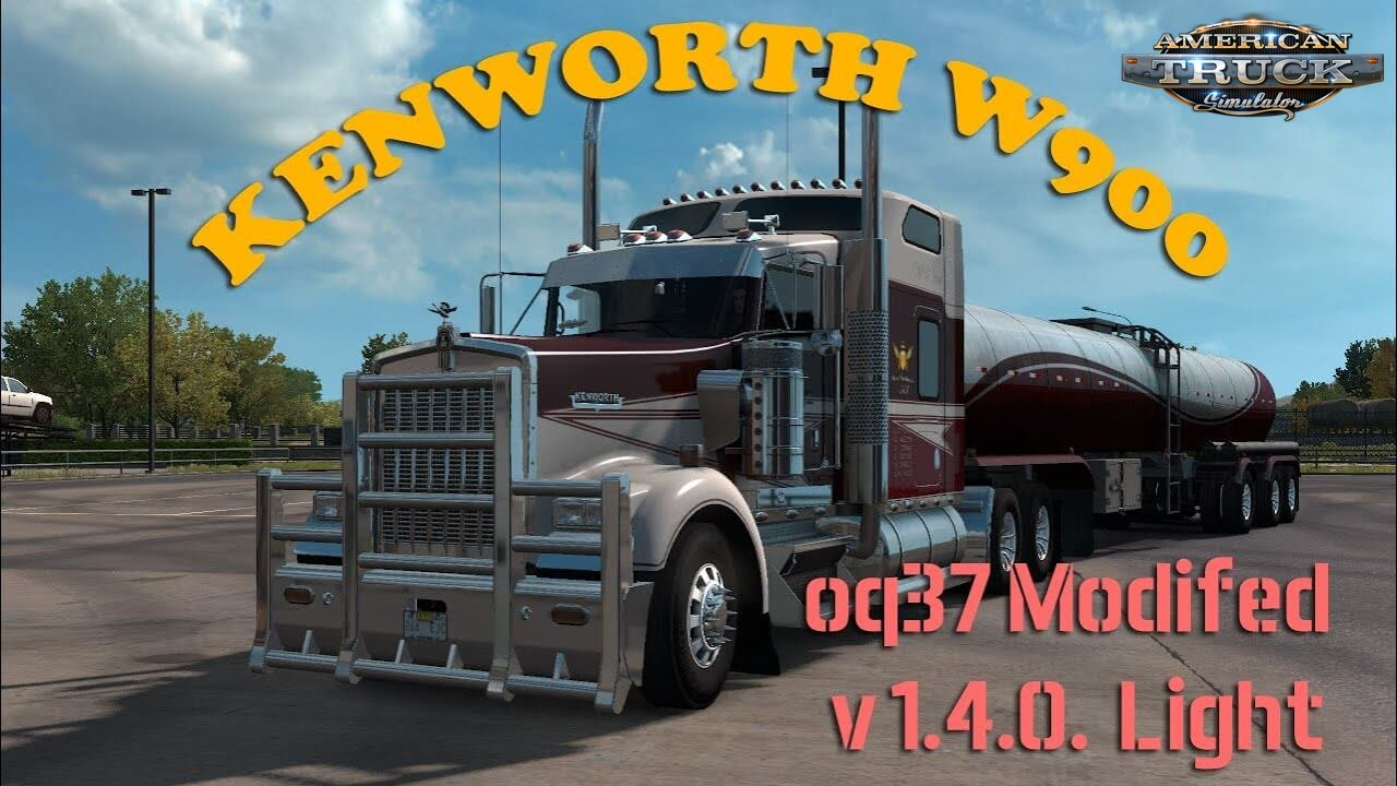 Kenworth W900 Light v1.5 Edit by oq37 (1.38.x)