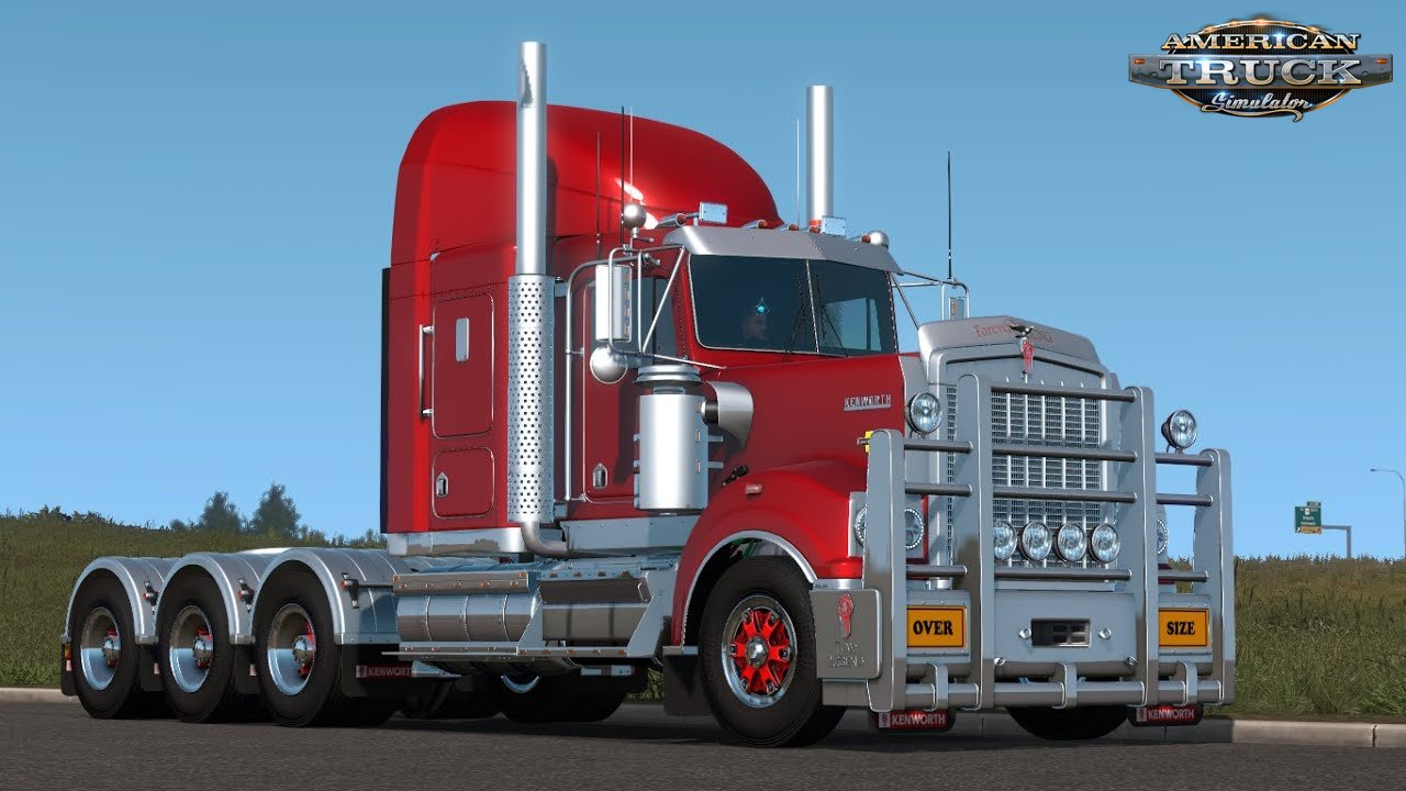Kenworth T900 Legend + Interior v1.0 (1.37.x)