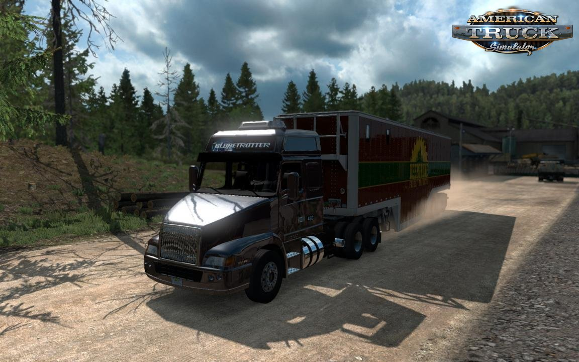 Volvo NH12 2000 v1.3 Edit by mjtemdark (1.37.x)