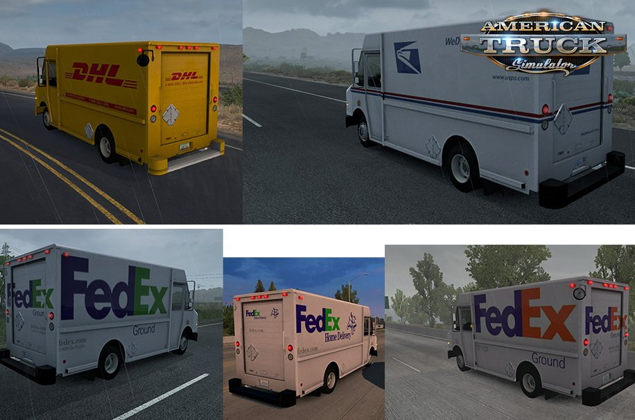 Chevy Step Van Pack AI Traffic v1.0 (1.38.x)