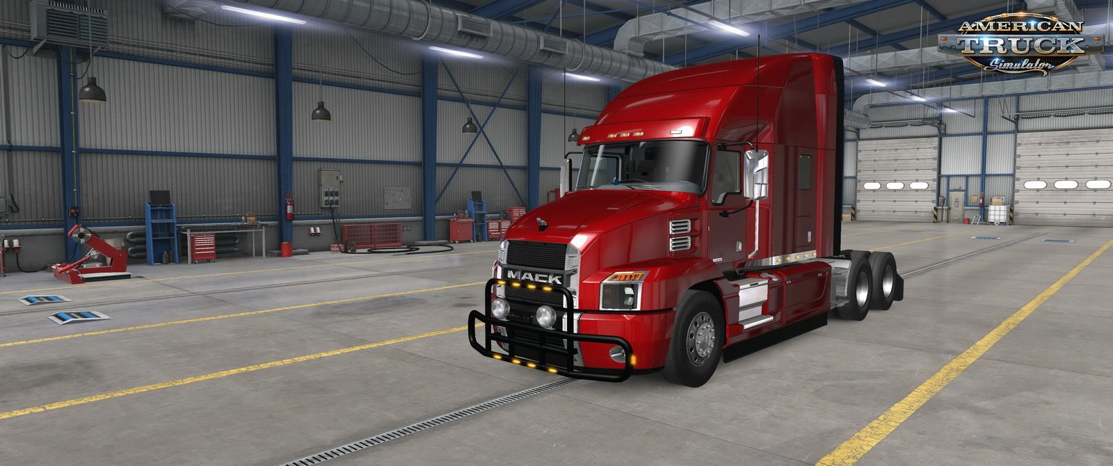 Bullbars for SCS Mack Anthem v1.0  (1.38.x)
