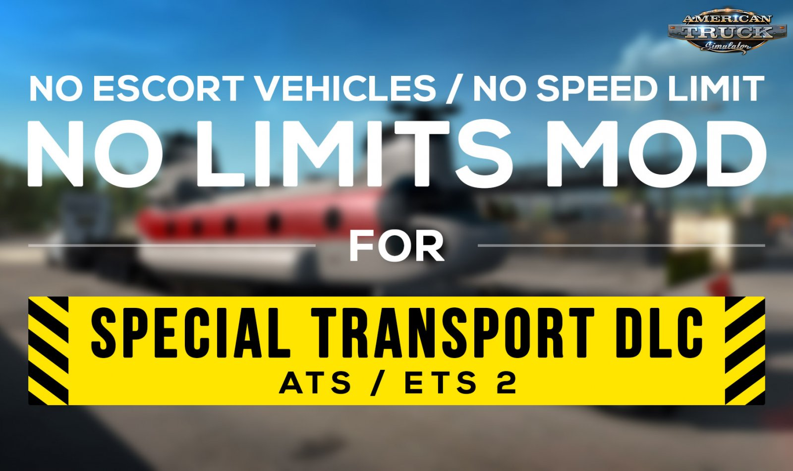 No Limits Mod v1.1 for Special Transport DLC (1.38.x)