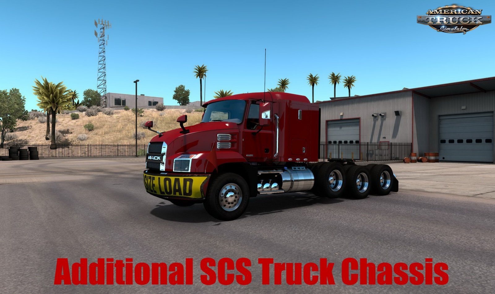 Additional SCS Truck Chassis v1.0 (1.38.x) for ATS