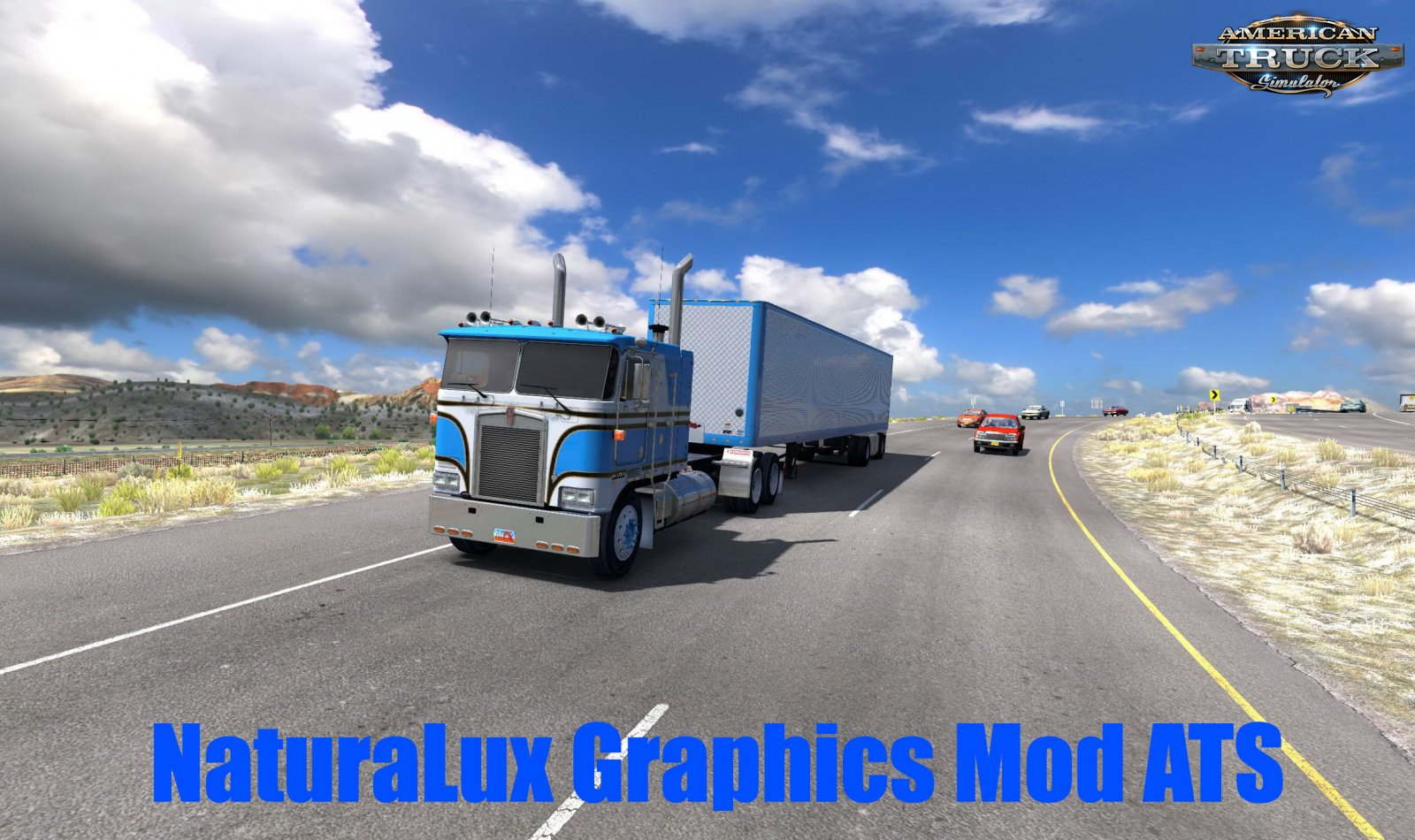 NaturaLux Graphics Mod v1.0 (1.38.x) for ATS